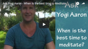 When Is The Best Time To Meditate?