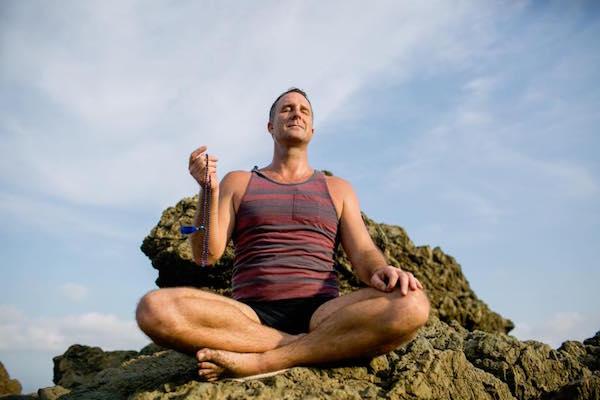 Yogi Aaron Meditating
